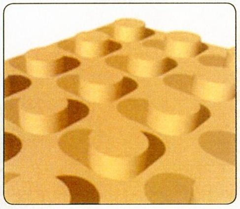 Пенополистирольная плита с выступами