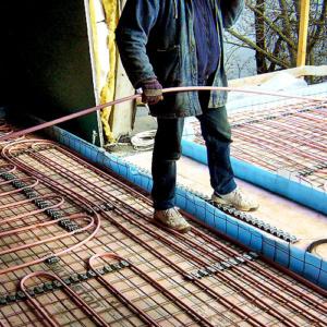 Подготовка деформационных швов при устройстве стяжки