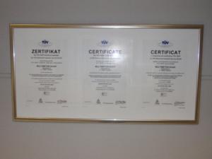 Сертификаты MULTIBETON (часть 2)