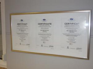 Сертификаты MULTIBETON (часть 3)
