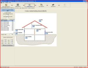 Расчет теплого пола - интерфейс Multiplaner CAD (стандартные помещения)