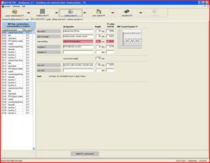 Расчет теплого пола - интерфейс Multiplaner CAD (конструкция полов)