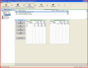 Расчет теплого пола - интерфейс Multiplaner CAD (окна и двери)