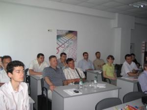 Семинар по конструкции теплого водяного пола MULTIBETON для клиентов и партнеров ЧП «АМП стиль» в офисе компании (Киев)