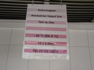 Сравнительный тест на ударопрочность