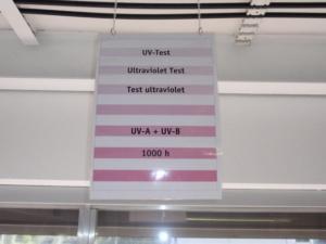 Тест на устойчивость к ультрафиолетовому излучению